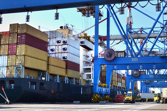Value Stream Mapping method was applied to four different seaport container terminals of varying sizes.