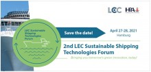 LEC Sustainable Shipping banner