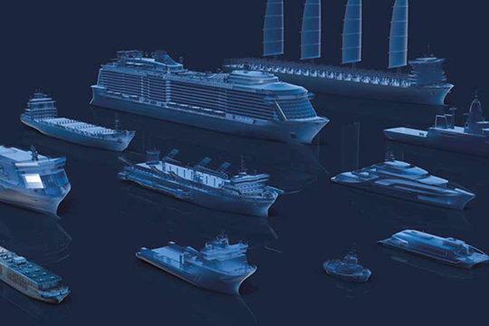 Energy grids for 11 different ship types were simulated